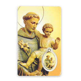 Saint Anthony prayer card