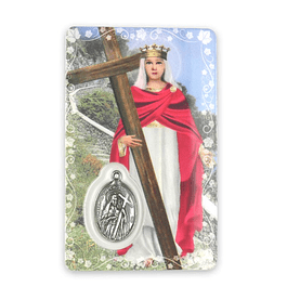 Saint Helena prayer card