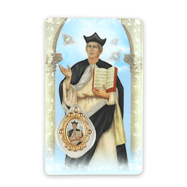 Prayer card of Saint Ivo