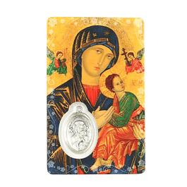 Pagela de Nossa Senhora do Perpétuo Socorro