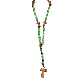 Rosary with Tau cross