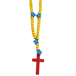 Rosary with stars