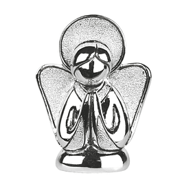 Anjinho em bilaminado de prata