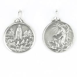 Medalha de Anjo da Guarda - Prata 925