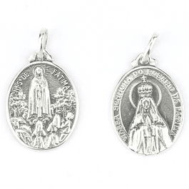 Medalha de Fátima - Prata 925