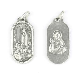 Medalha de Sagrado Coracção de Jesus - Prata 925