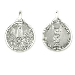Medalha de São Rafael - Prata 925