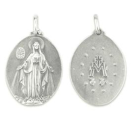 Medalha de Nossa Senhora das Graças - Prata 925