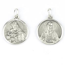 Medalha católica - Prata 925