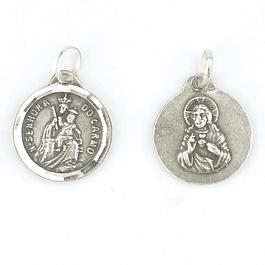 Medalha de Nossa Senhora do Carmo - Prata 925