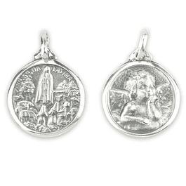 Medalha de Anjinho - Prata 925