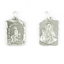 Medalha pergaminho - Prata 925