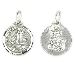 Medalha Aparição de Fátima - Prata 925