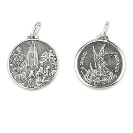 Medalha de São Miguel - Prata 925