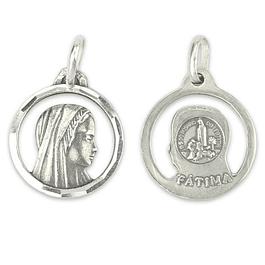 Medalha Nossa Senhora face - Prata 925