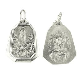 Medalha Milagre de Fátima - Prata 925