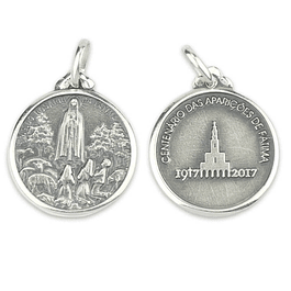 Medalha do Centenário das Aparições - Prata 925
