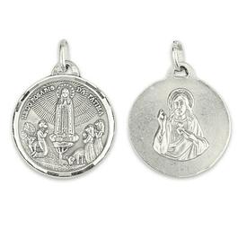 Medalha de Coração de Jesus - Prata 925