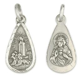 Medalha Lágrima de Fátima - Prata 925
