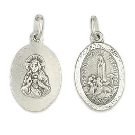 Medalha Oval Aparição - Prata 925