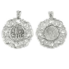 Medalha Rendilha de Aparição de Fátima - Prata 925