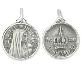 Medalha Avé Maria - Prata 925