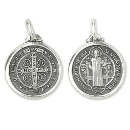 Medalha de Cruz de São Bento - Prata 925