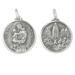 Medalha de Santo António - Prata 925