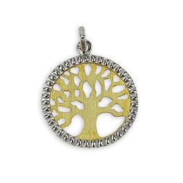 Medalha Árvore da Vida - Prata 925