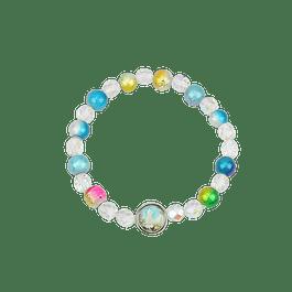 Colorful bracelet with Fatima