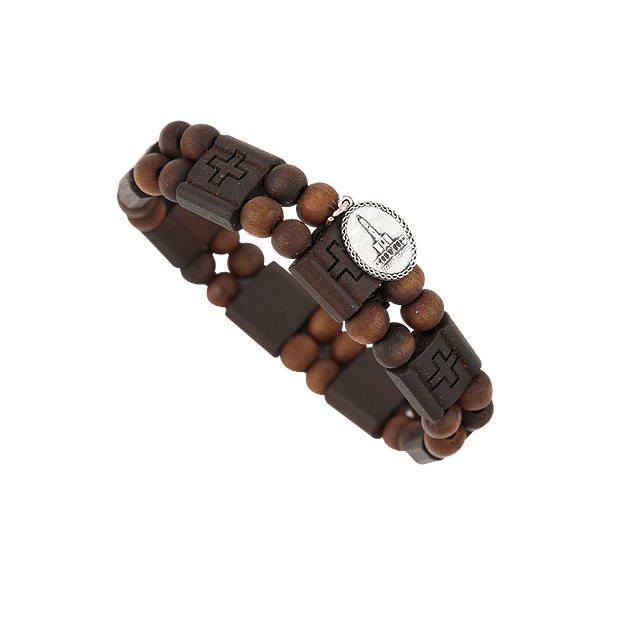 Pulseira em madeira
