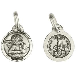 Medalha de Anjinho da Guarda e Fátima - Prata 925