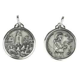 Medalha de São Francisco de Assis - Prata 925