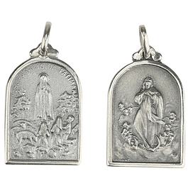 Medal of Mary Undoer of Knots - Silver 925
