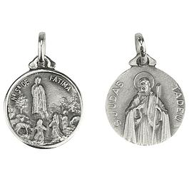 Medalha de São Judas Tadeu - Prata 925