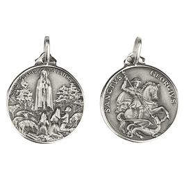 Medalha de São Jorge - Prata 925