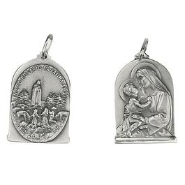 Medalha Santa Ana - Prata 925