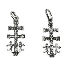 Medalha cruz Caravaca - Prata 925