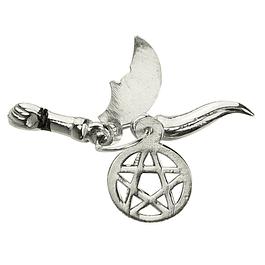 Medalha 5 Saimão - Prata 925