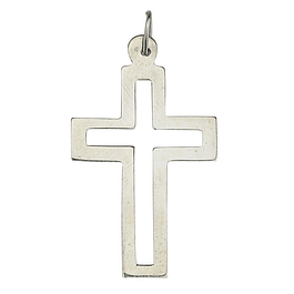 Cross Medal - Silver 925