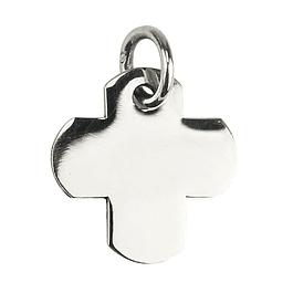 Medalha cruz lisa - Prata 925