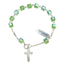 Swarovski catholic bracelet