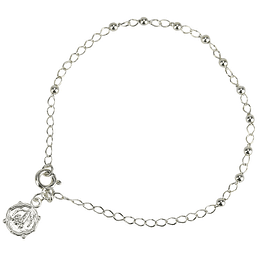Apparition medal bracelet - Silver 925