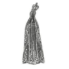 Medalha Senhora de Fátima - Prata 925