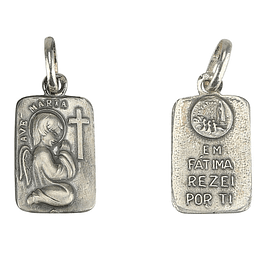 Medal of Angel praying - Silver 925