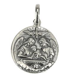 Medalha do batismo - Prata 925