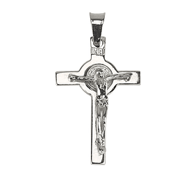 Crucifix of Saint Benedict - 925 Silver