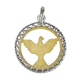 Holy Spirit Medal - Silver 925