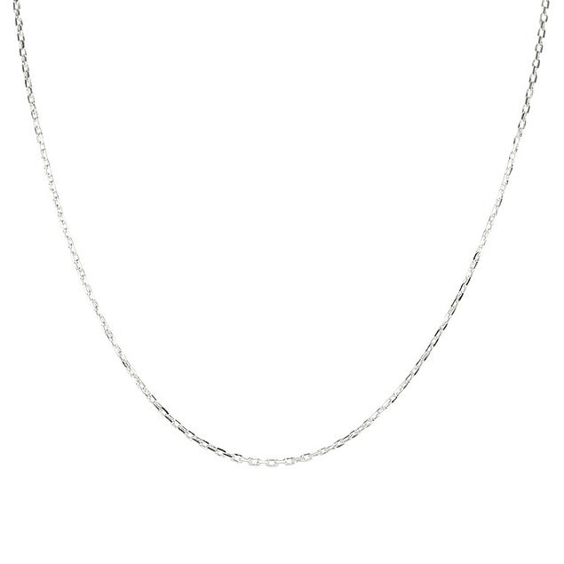 Fio de argola rectangular - Prata 925