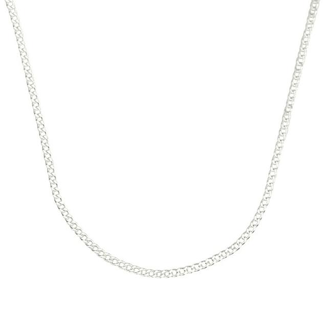 Fio simples com fecho - Prata 925